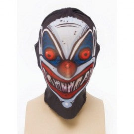Clown Tattoo Head Net Mask
