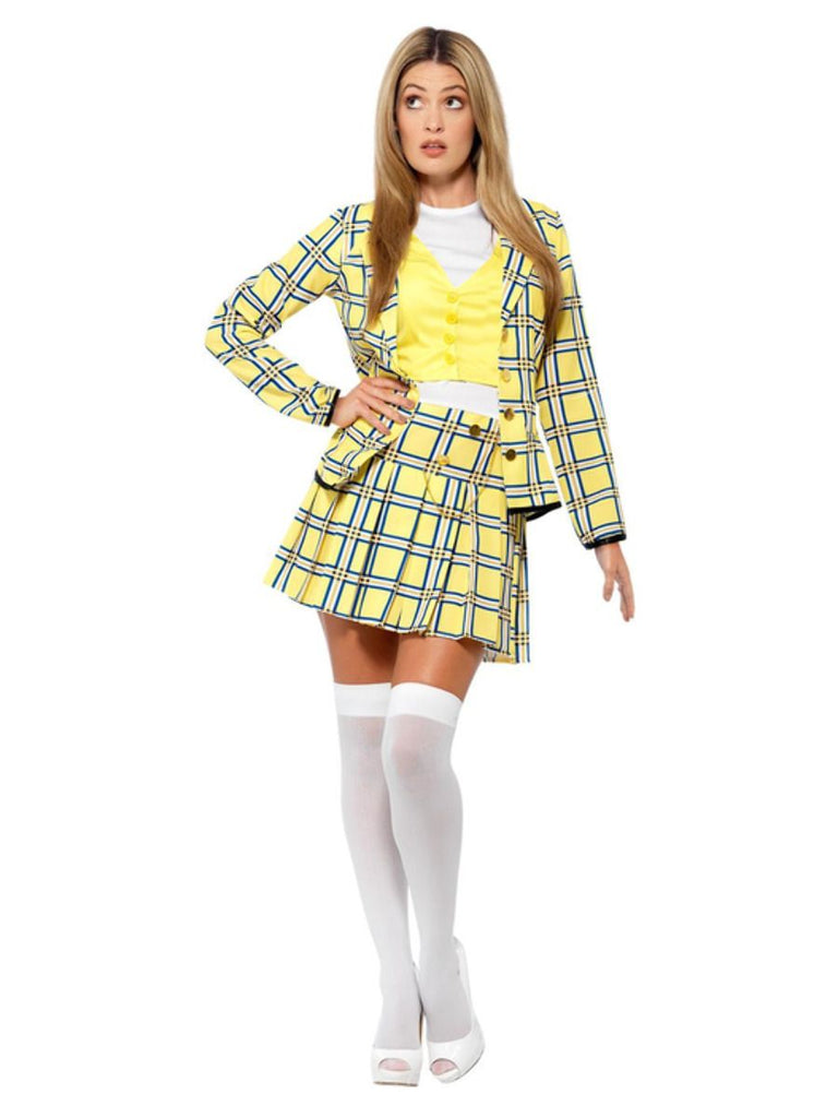 Ladies Clueless Cher fancy dress Costume from 90's film
