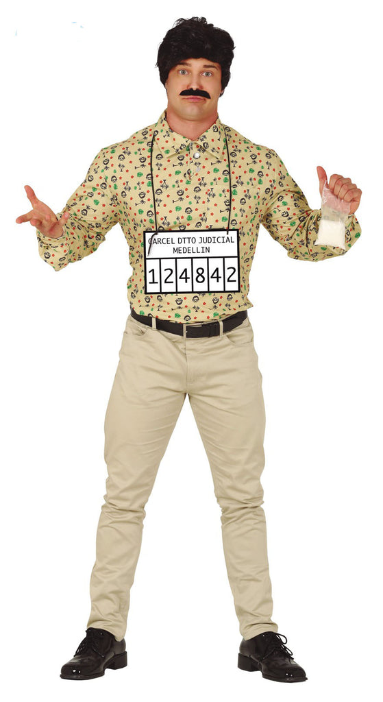 Colombian Gangster Pablo Escobar Adult Costume