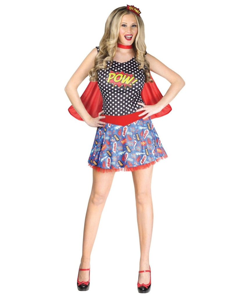 Comic Book Cutie Womens Costume