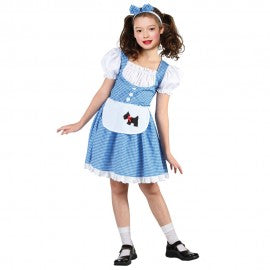 Country Girl Dorothy Wizard of Oz child's costume.