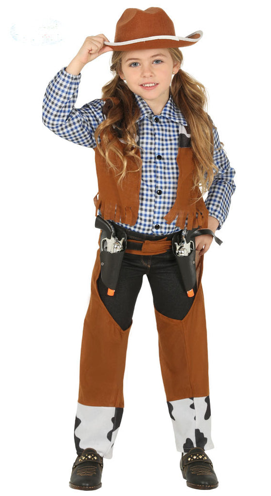 Cowgirl Children's Costume