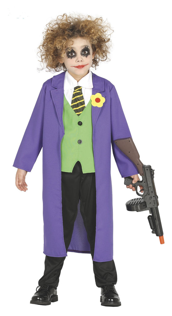 Crazy Clown Joker Costume