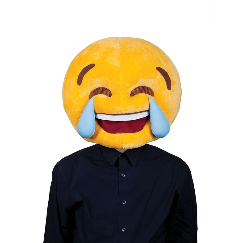 Cry Laughing Face Emoji Mask