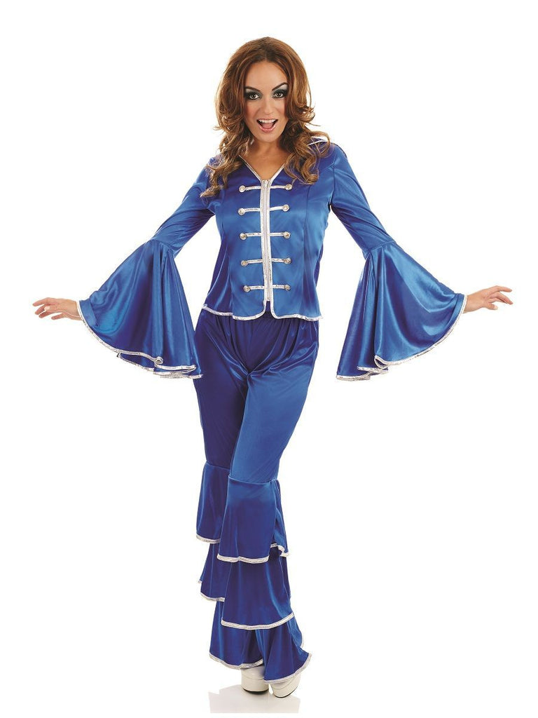 Dancing Queen Abba 1970's ladies costume.