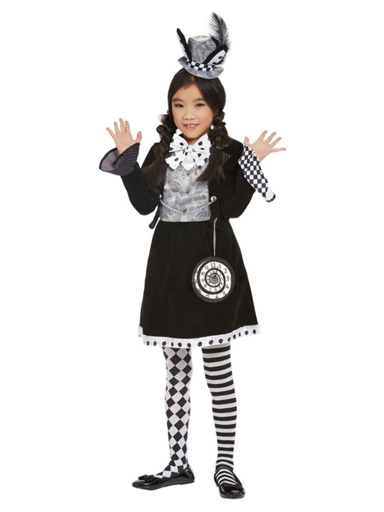 Dark Mad Hatter dress up Costume Girl
