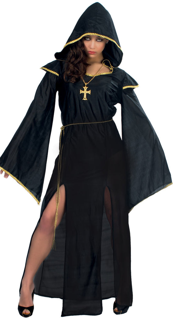 Black High Priestess Adult Women's Robe Costume