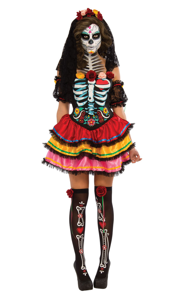 Ladies Day Of The Dead Senorita outfit