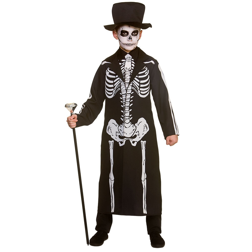 Day of the Dead Skeleton Boy's Costume