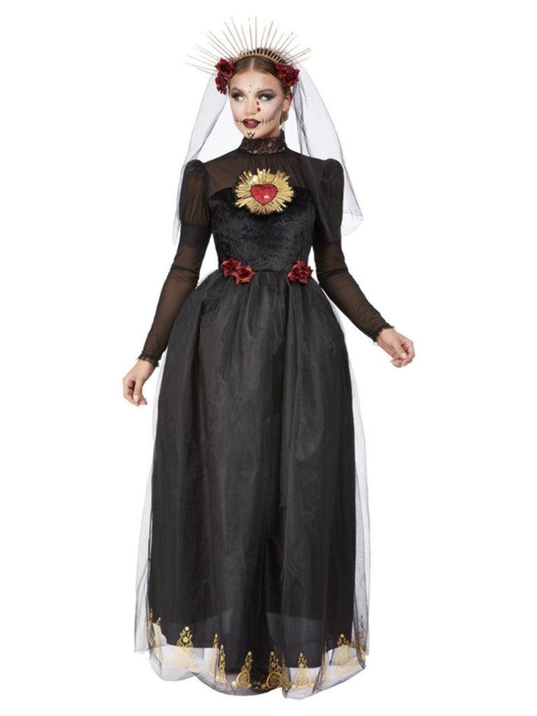 Ladies Day of the Dead Sacred Heart Bride Costume Adult