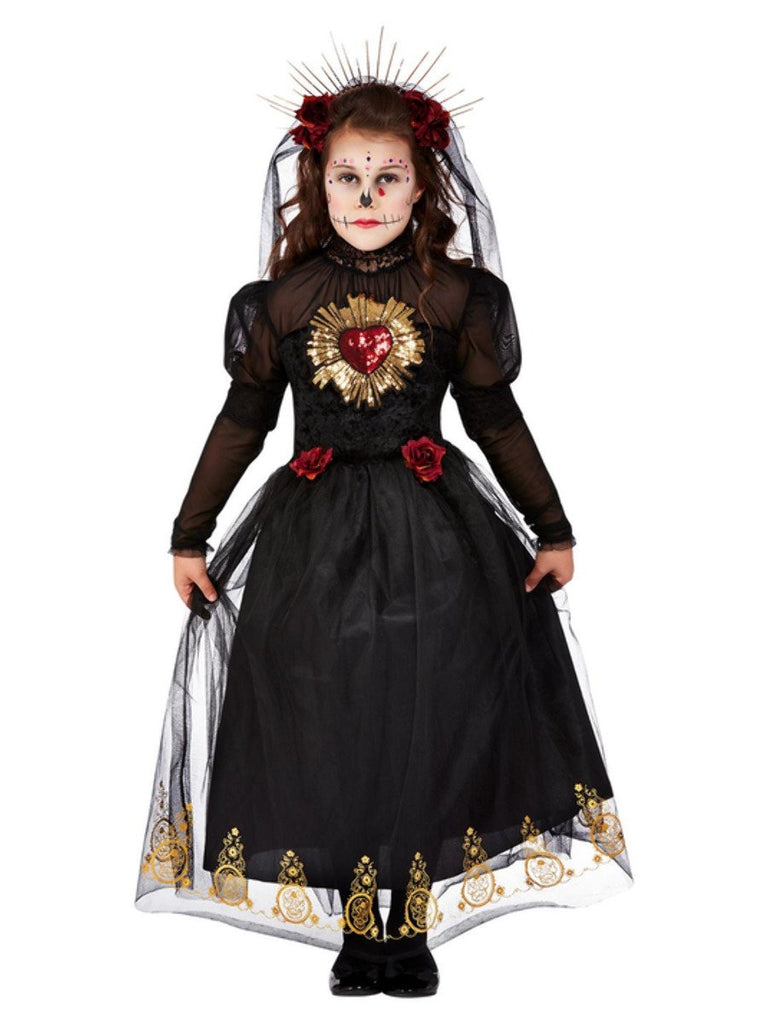 Day of the Dead Sacred Heart Bride Costume Girl