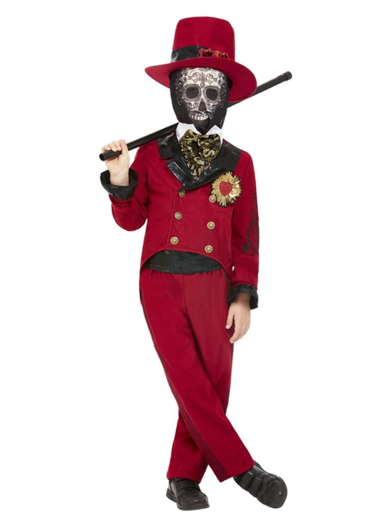 Day of the Dead Sacred Heart Groom Costume Boy