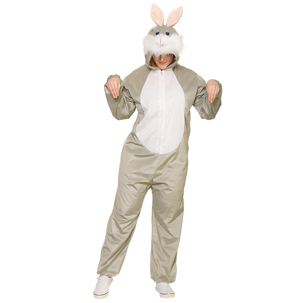 Deluxe Bunny Costume Adult fancy dress.
