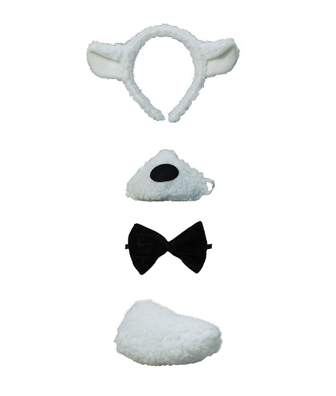 Deluxe Lamb Set Fancy Dress Kit With Sound