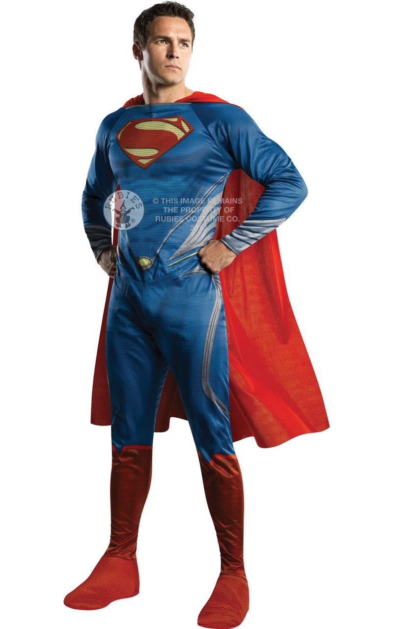 Deluxe Man of Steel Superman Costume Adult