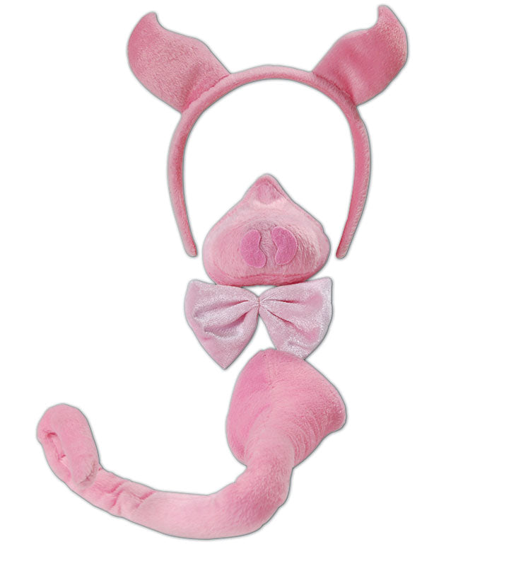 Deluxe Pig Set Fancy Dress Kit With Sound