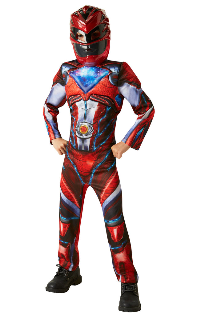 Deluxe Power Rangers Red Costume Kids