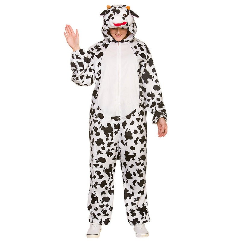 Deluxe Adult Cow Animal Costume