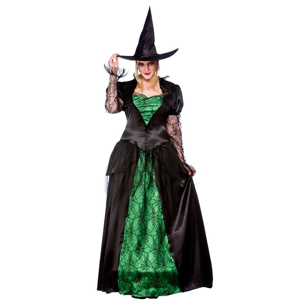 Deluxe Emerald Witch Costume Adult