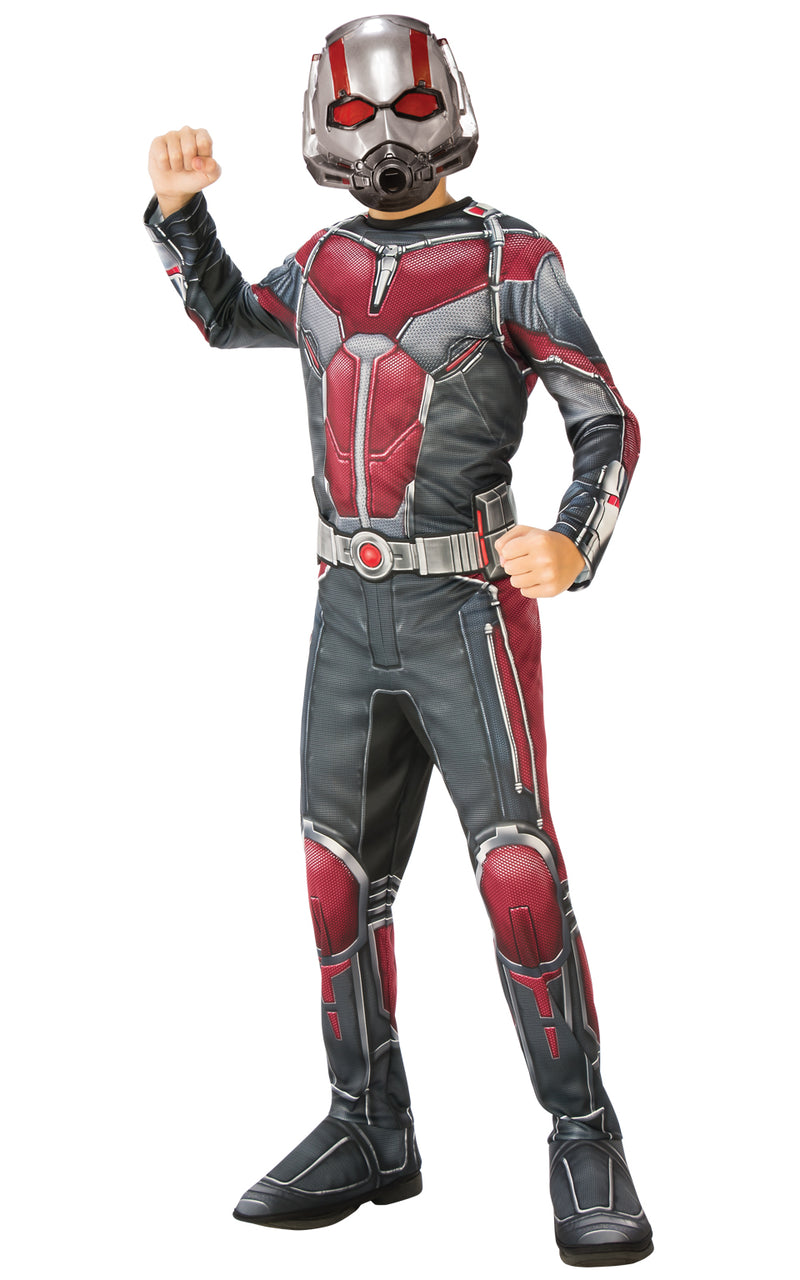 Deluxe Ant Man movie costume for Kids.