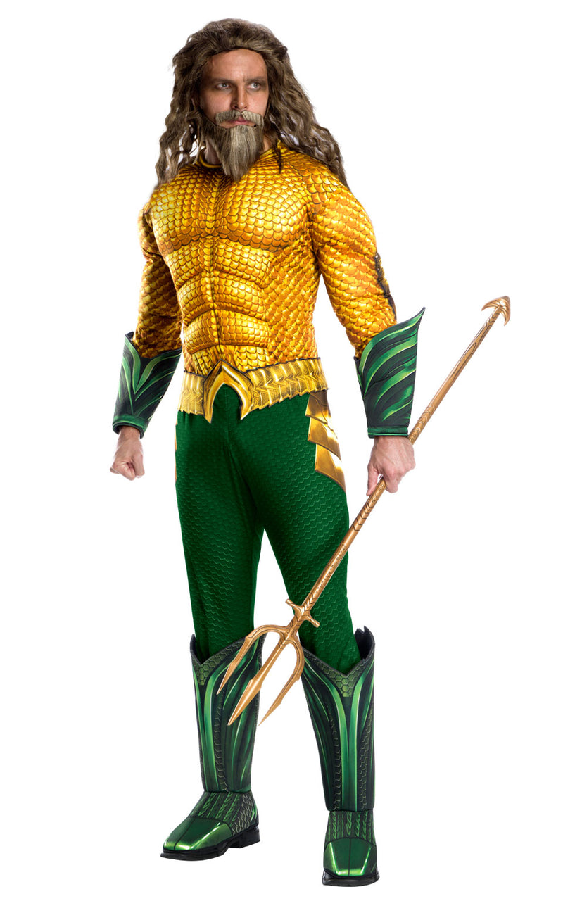 Deluxe Aquaman Costume for adults from the DC Comic's Film