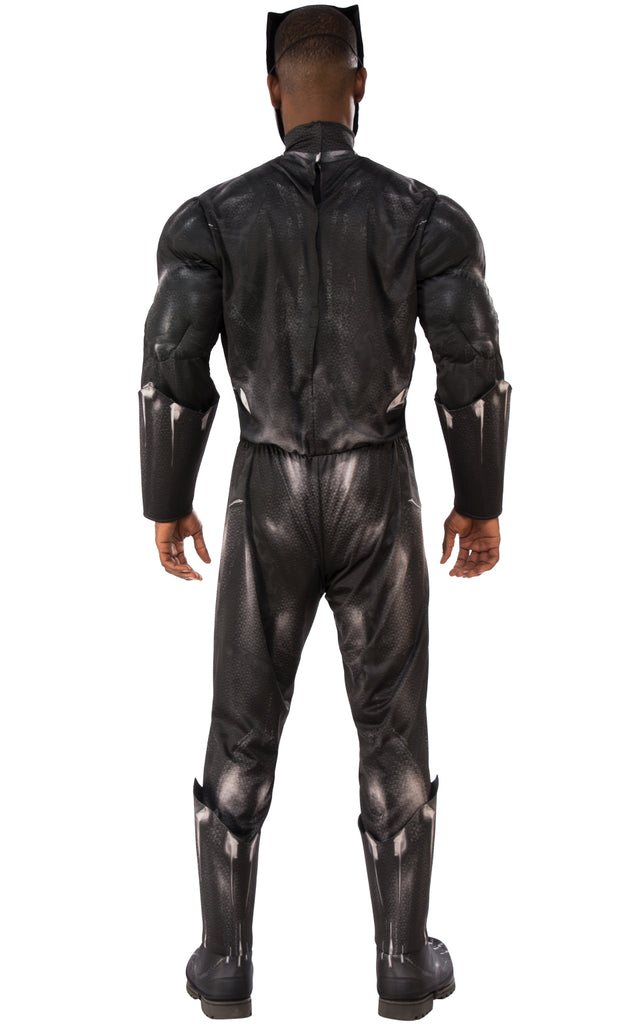Deluxe Black Panther Muscle Costume