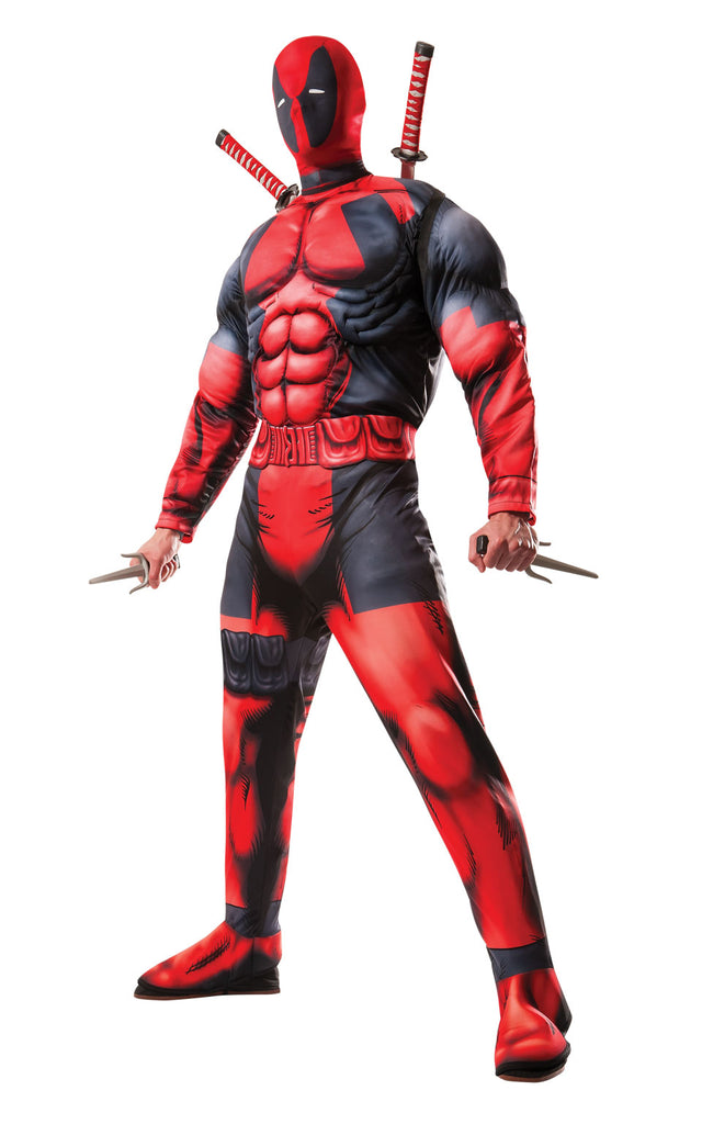 Men's Deluxe Deadpool Cosplay Adult Costume
