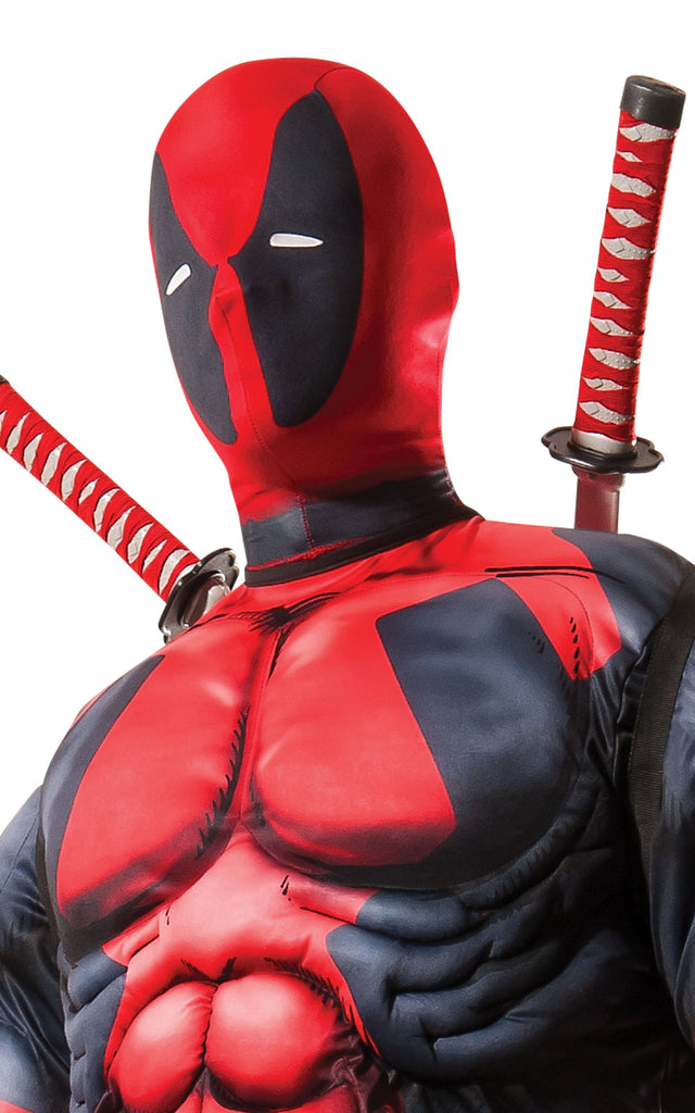Men's Deluxe Deadpool Cosplay Adult Suit
