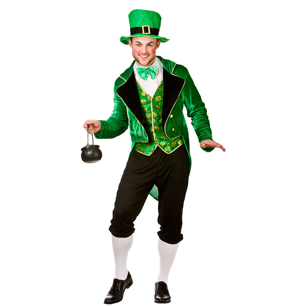 Deluxe Leprechaun Costume for men.
