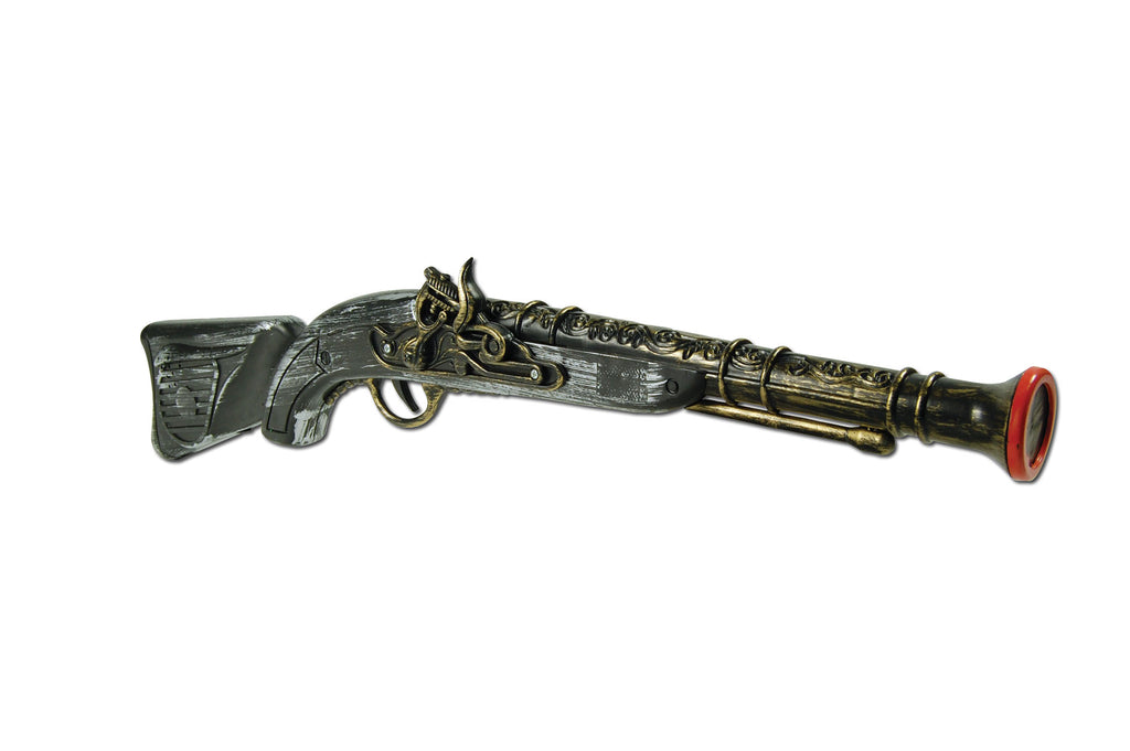 Deluxe Long Toy Pirate Pistol Gun