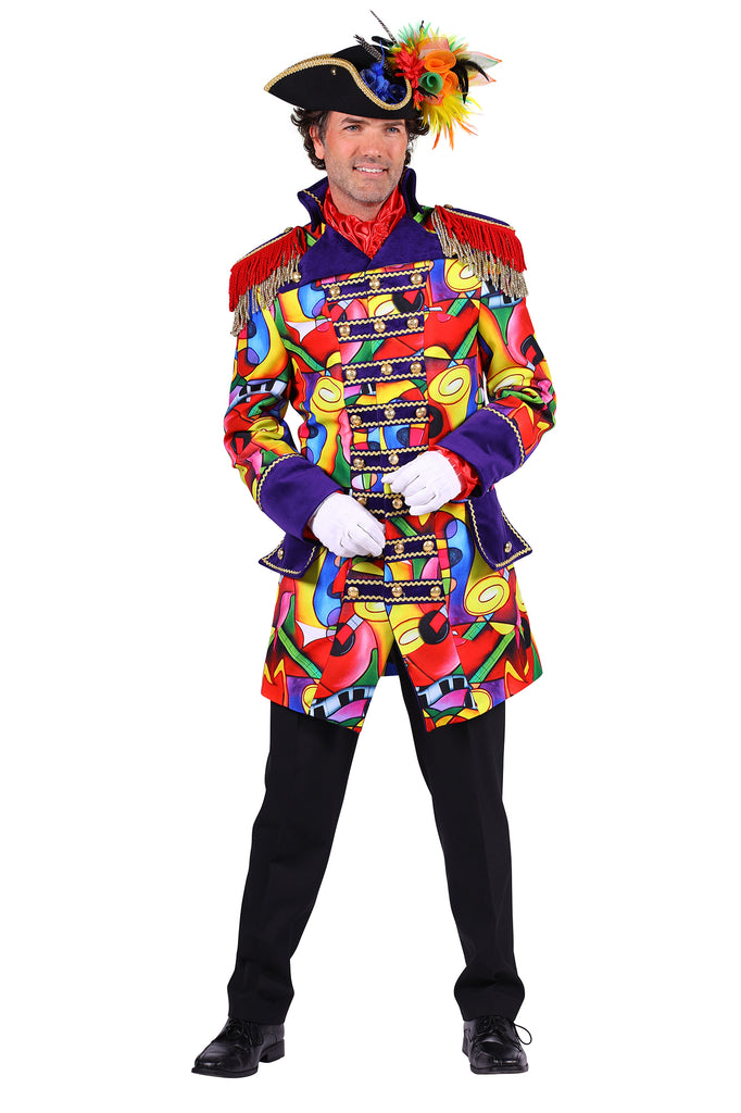 Men's Deluxe Music Celebration Carnival Jacket