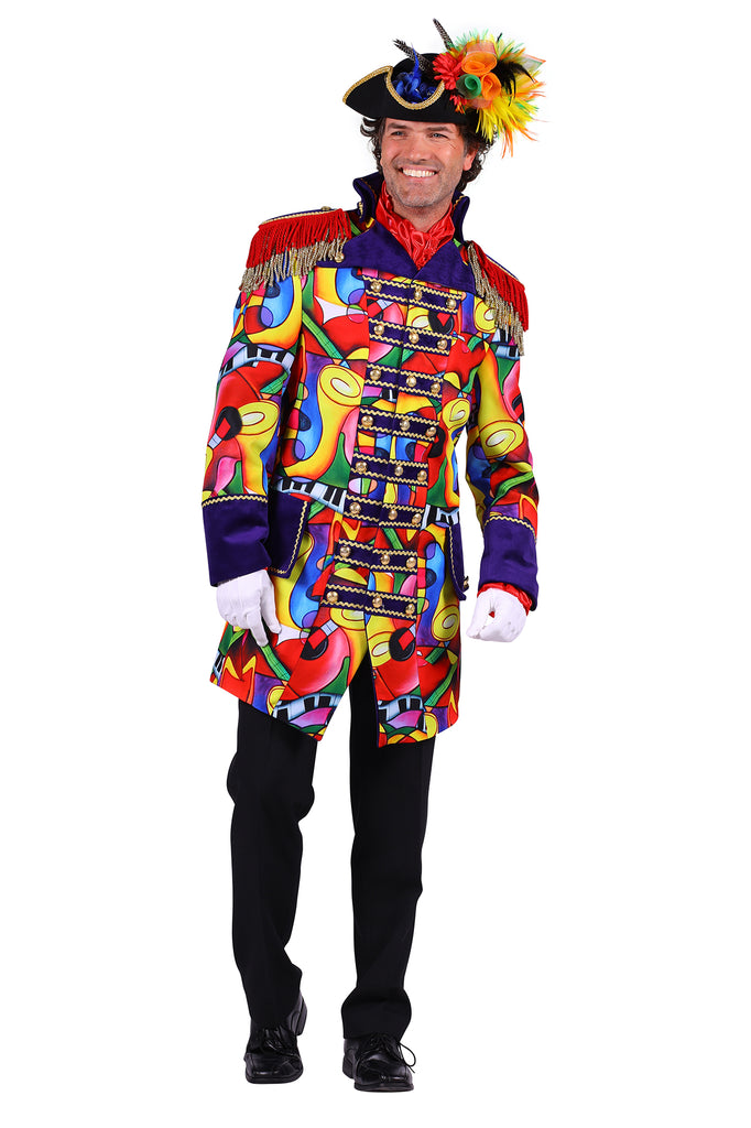 Deluxe Music Celebration Carnival Jacket Men's