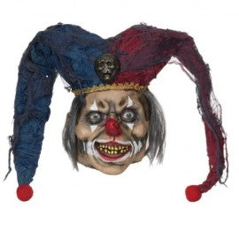 Deranged Jester Rubber Mask