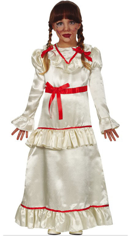 Devil Doll Annabelle Conjuring Girls Kid's Costume