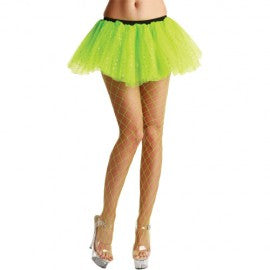 Diamond Tights Neon Green