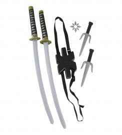 Double Ninja Sword Set