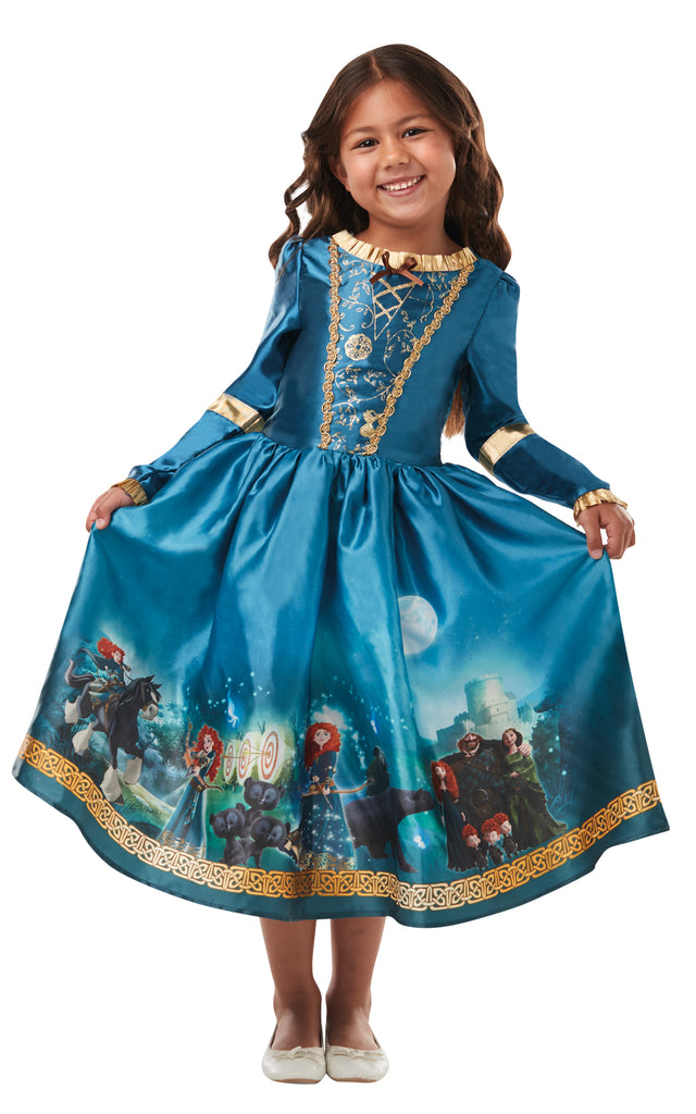 Dream Princess Merida Brave Costume Child's