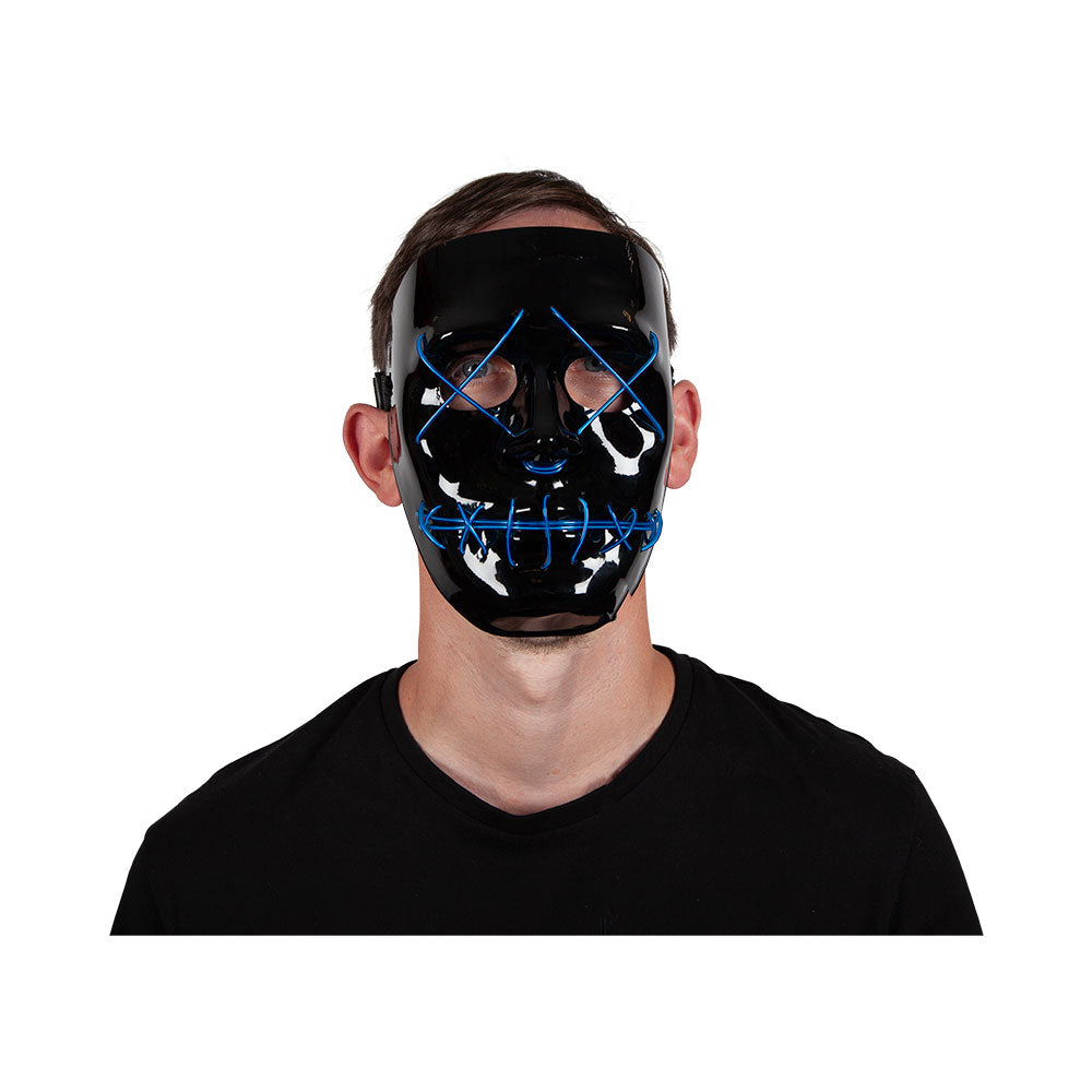 EL Light Up Mask Blue