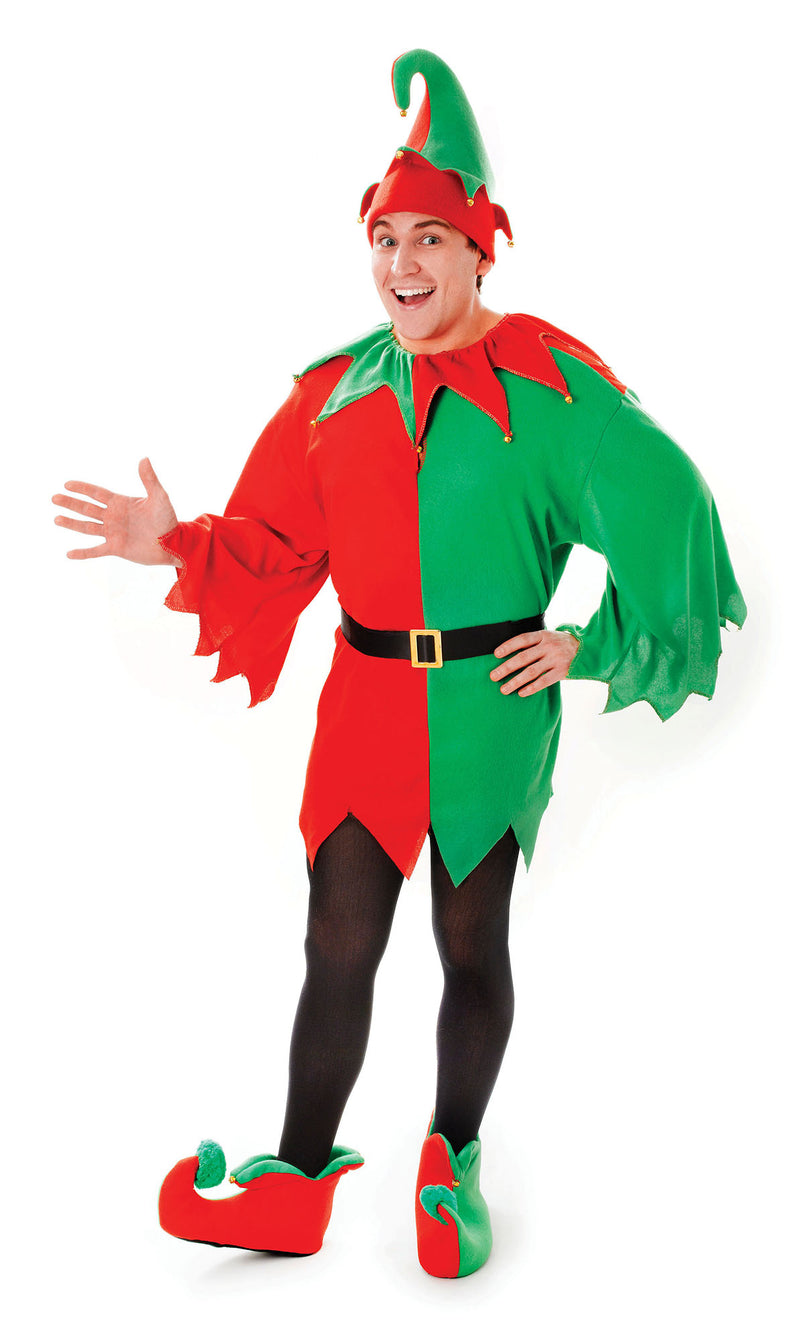 Elf  Santas Helper Adult Costume For Men
