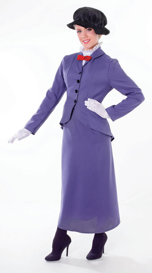 Mary Poppins English Nanny Fancy Dress Costume