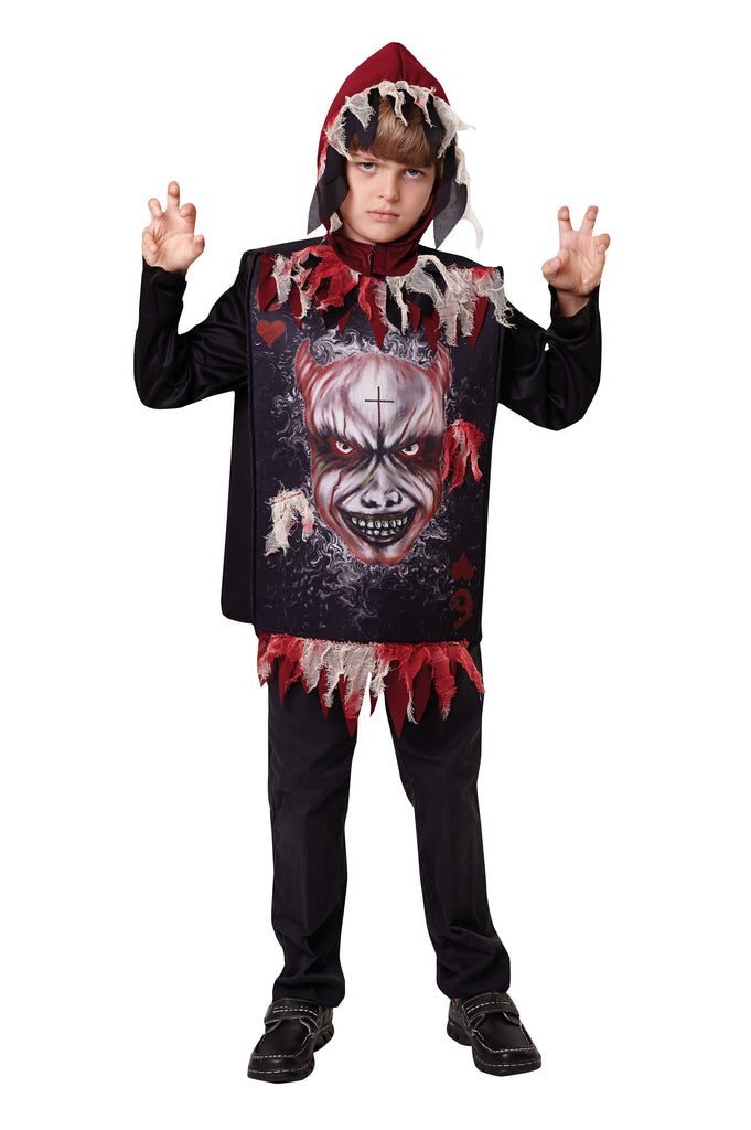 Evil Devil Tabard Boys Costume