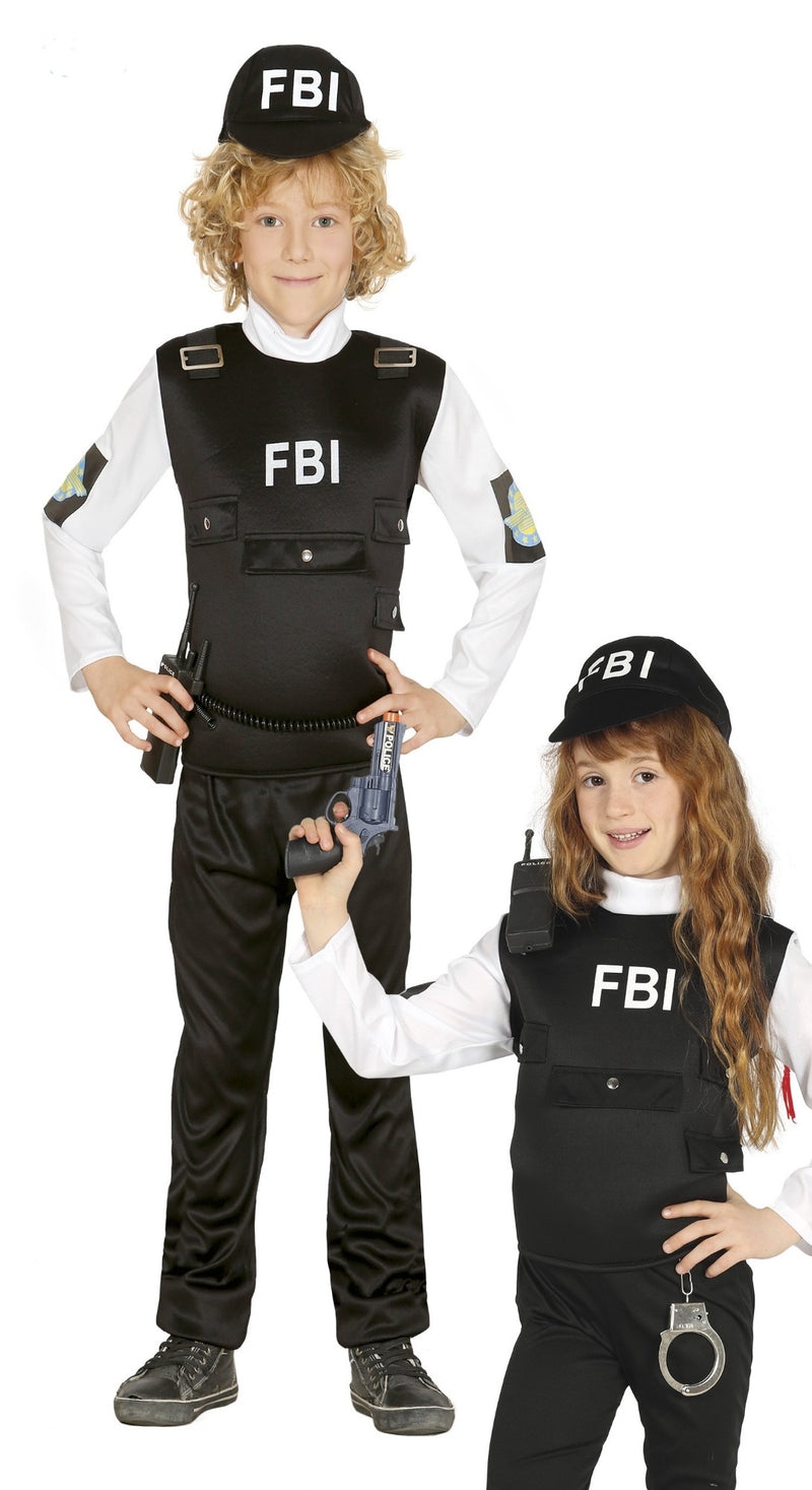 FBI Agent Children's Costume