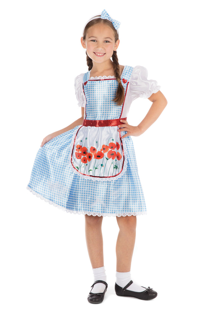 children's Fairytale Girl Dorothy dress up Costume