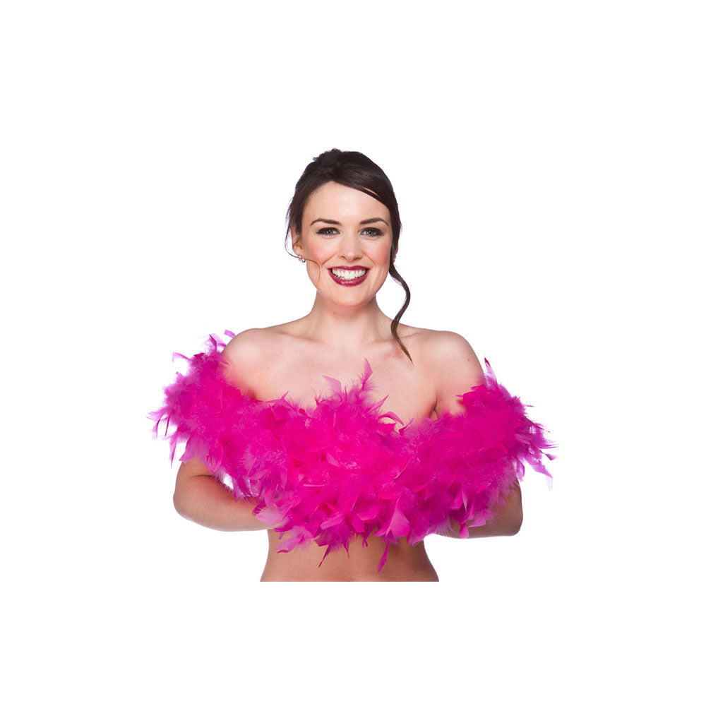 Hot pink Feather Boa.