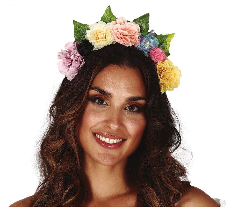 Flower Fairy Headband Bright