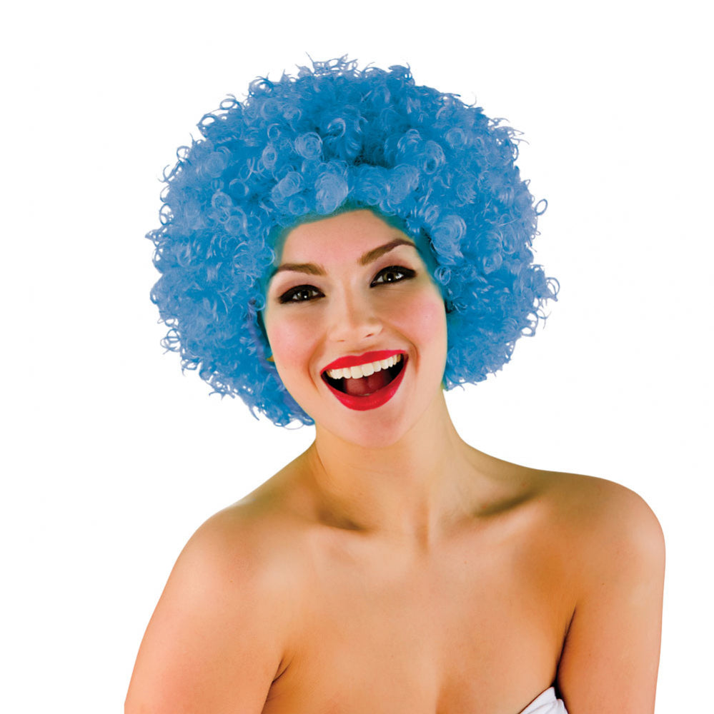 Funky Afro Blue