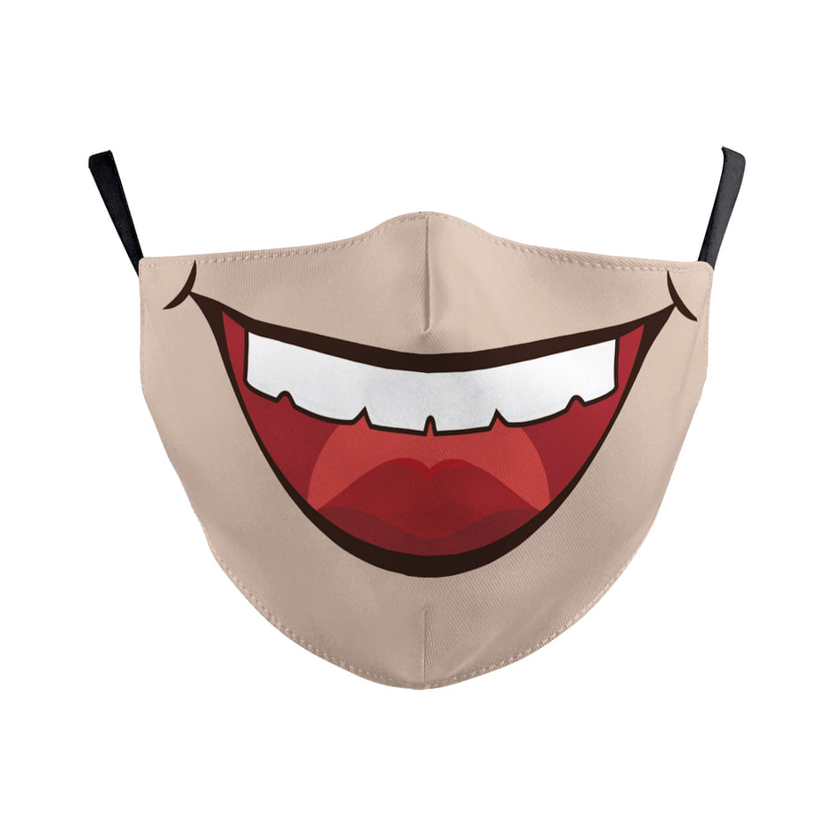 Funny Big Mouth Face Mask