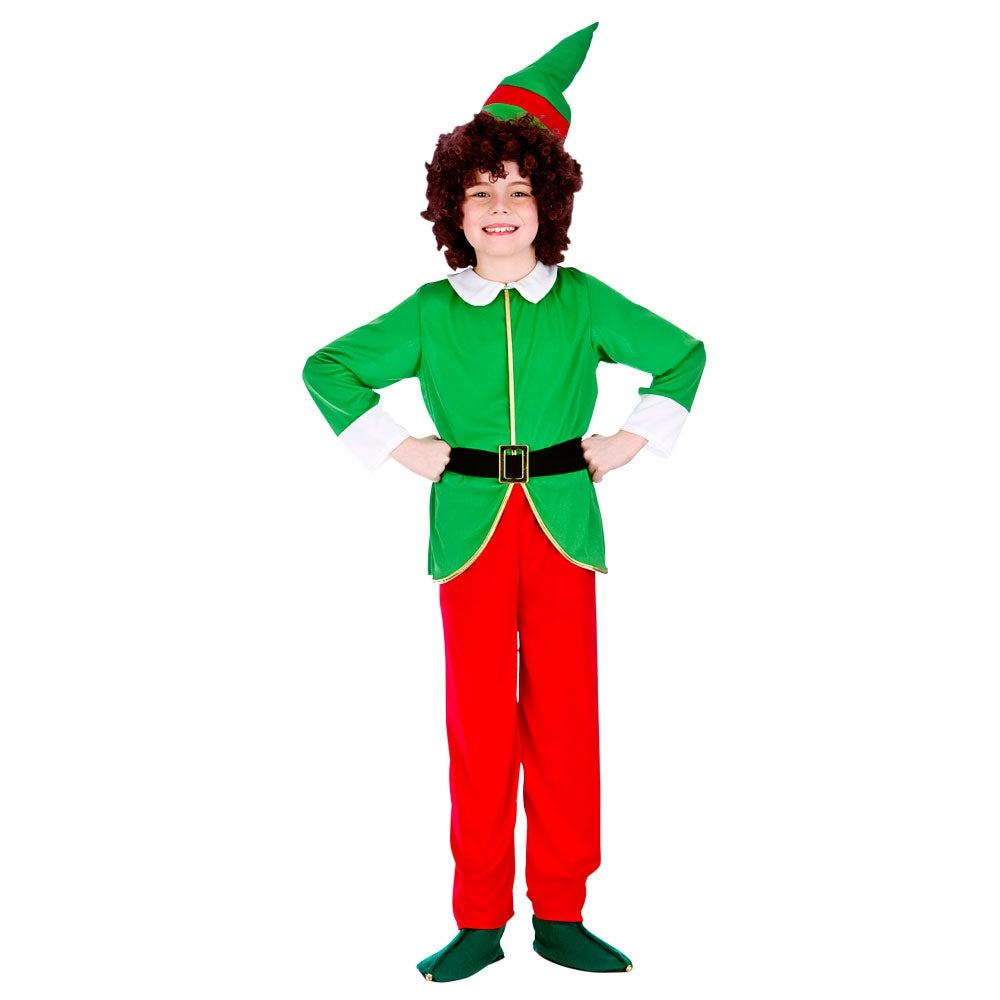 Funny Elf Kid Christmas Costume