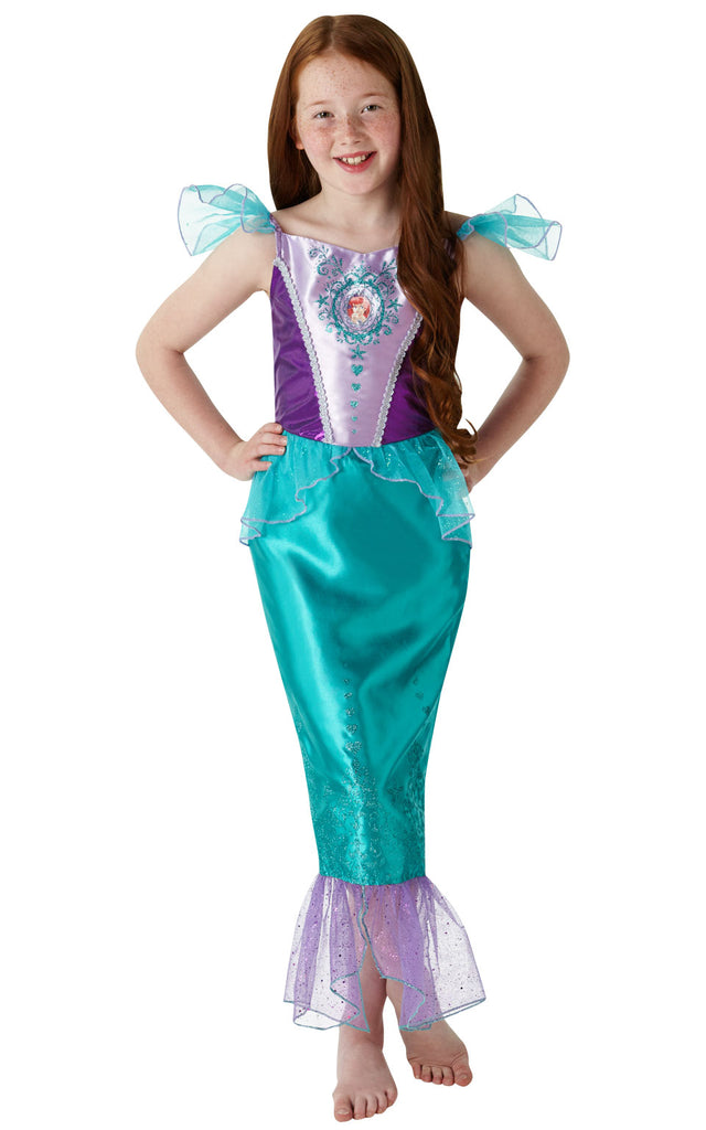 Gem Princess Ariel Disney outfit for girls.