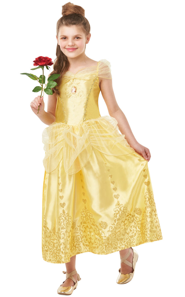 Gem Princess Belle Girls Disney outfit.